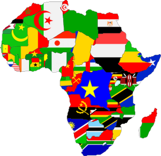 Map Of Africa Flags.Africa Flag Map Yaziki Professor Michael Czinkotaprofessor